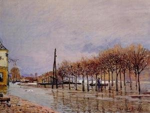 Alfred Sisley - Flood at Port-Marly I