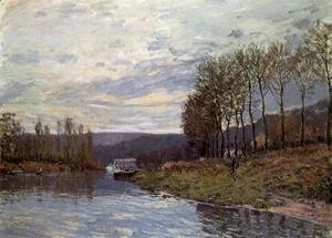 Alfred Sisley - Seine at Bougival