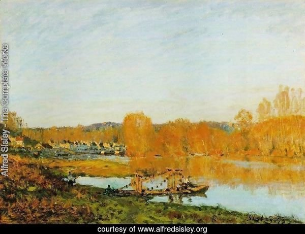 Autumn - Banks of the Seine near Bougival