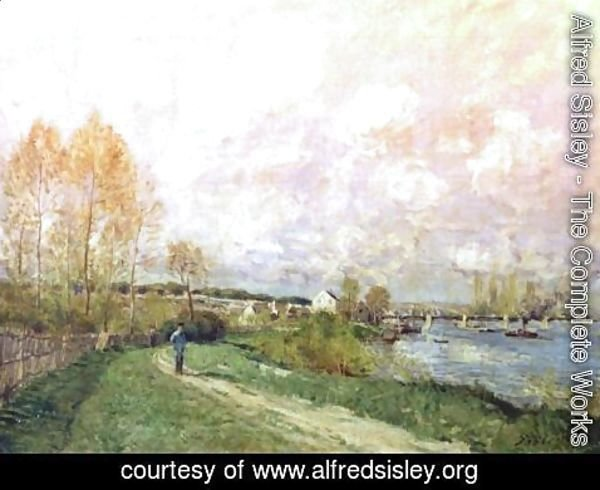 Alfred Sisley - Summer at Bougival