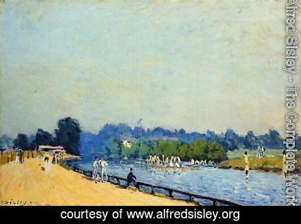Alfred Sisley - Road from Hampton Court