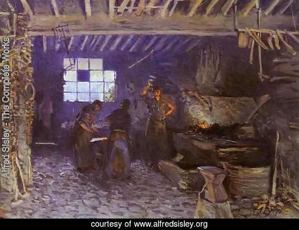 Forge at Marly-le-Roi