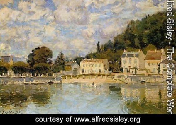 Alfred Sisley - Horses being Watered at Marly-le-Roi