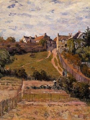 Alfred Sisley - The Rising Path