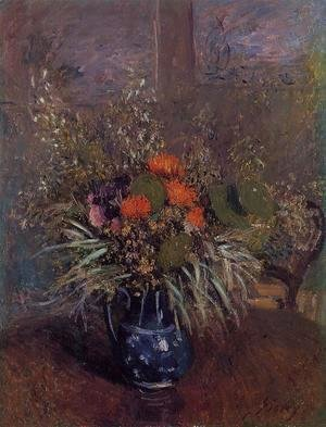 Alfred Sisley - Bouquet of Flowers