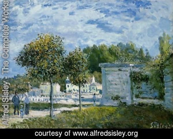 Alfred Sisley - The Watering Place at Marly