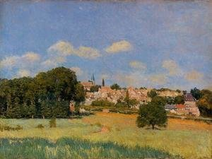Alfred Sisley - View of St. Cloud - Sunshine