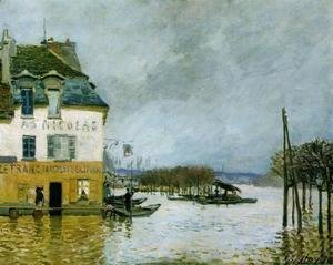 Alfred Sisley - Flood at Port-Marly II 2