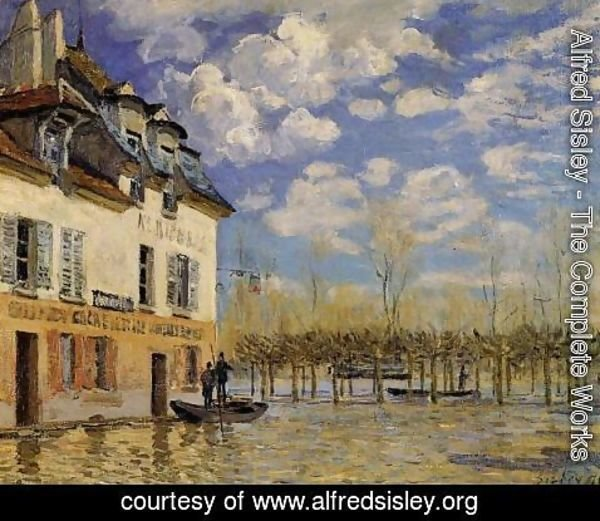 Alfred Sisley - Flood at Port-Marly IV