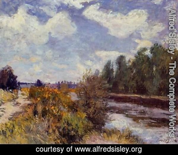 Alfred Sisley - The Seine at Bougival III