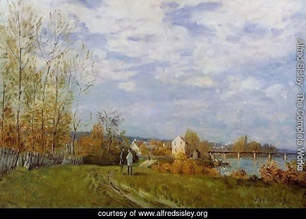 Banks of the Seine at Bougival