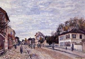 Street Scene in Marly