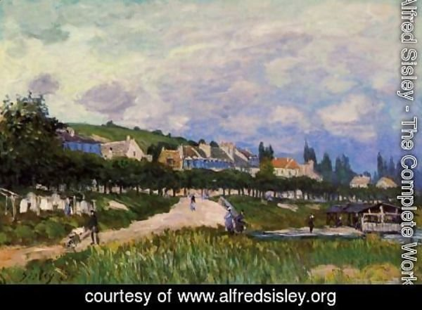 Alfred Sisley - The Laundry
