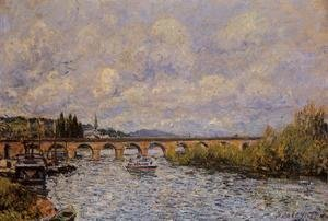 Alfred Sisley - The Sevres Bridge I