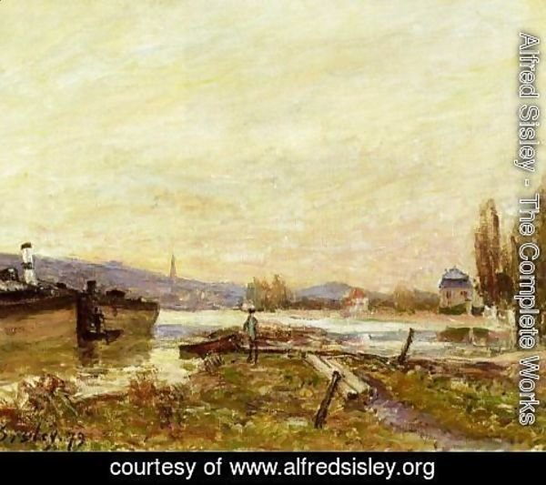 Alfred Sisley - Saint-Cloud, Banks of the Seine