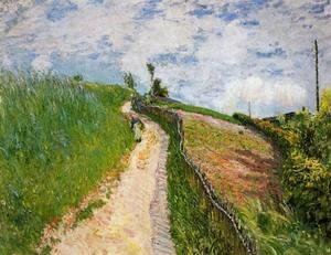 Alfred Sisley - The Hill Path, Ville d'Avray