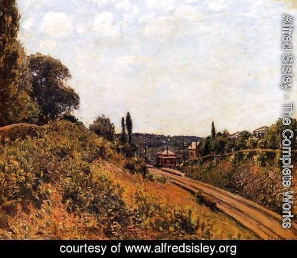 Alfred Sisley - The Station at Sevres I