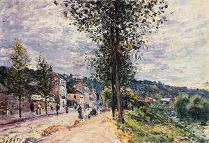 Alfred Sisley - Street Entering the Village