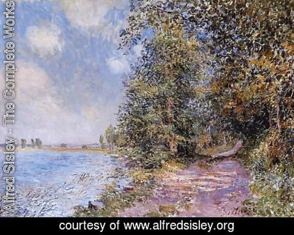 Alfred Sisley - An August Afternoon near Veneux