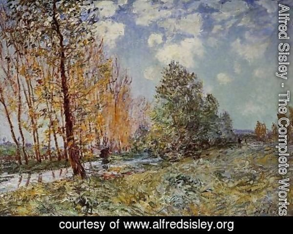 Alfred Sisley - By the River