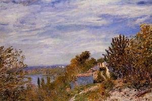 Alfred Sisley - Footpath in the Gardens at By