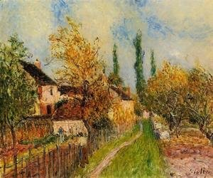 Alfred Sisley - Path at Sablons