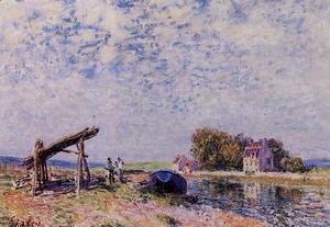 The Loing Canal at Saint-Mammes
