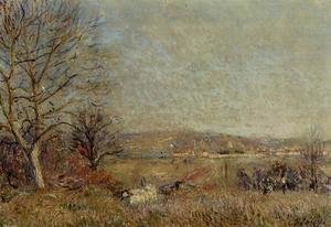 Alfred Sisley - The Plain of Veneux, View of Sablons