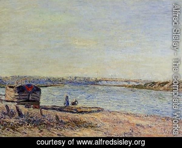 Alfred Sisley - The Hills of Veneux, Seen from Saint-Mammes