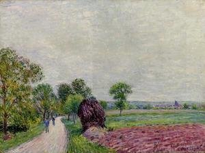 Alfred Sisley - Countryside near Moret