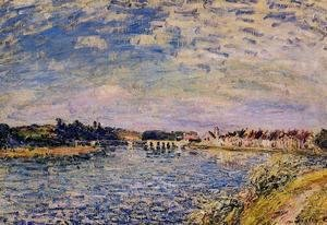 Alfred Sisley - Saint-Mammes - Evening