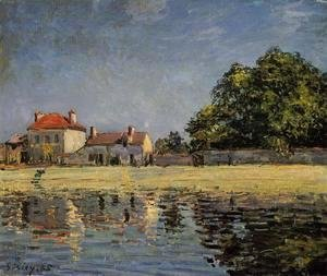 Alfred Sisley - Banks of the Loing, Saint-Mammes