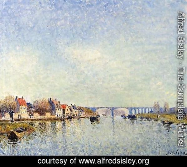 Alfred Sisley - Banks of the Loing at Saint-Mammes I