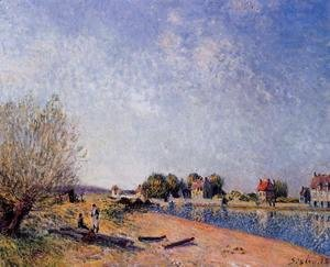 Alfred sisley the complete works banks of the loing at for Garage ad argenteuil