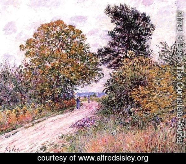Alfred Sisley - Edge of the Fountainbleau Forest - Morning