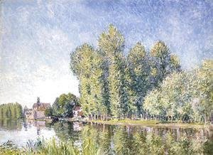 Alfred Sisley - The Loing at Moret
