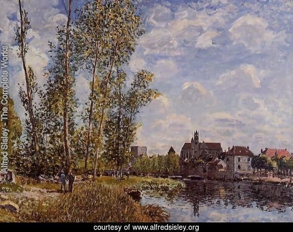 Moret, View from the Loing, May Afternoon