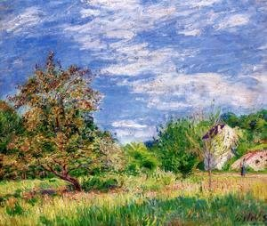 Alfred Sisley - Orchard in Spring I