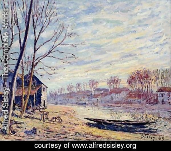 Alfred Sisley - Matrat Cottages