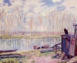 Alfred Sisley - Banks of the Loing