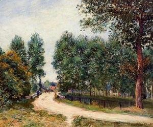 Alfred Sisley - The Path from Saint-Mammes, Morning