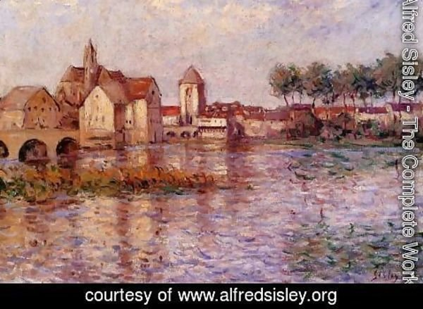 Alfred Sisley - Moret-sur-Loing II