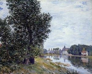 Alfred Sisley - At Moret-sur-Loing
