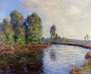 Alfred Sisley - Banks of the Loing I