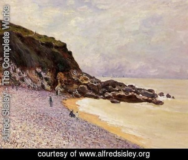 Alfred Sisley - Lady's Cove before the Storm (Hastings)