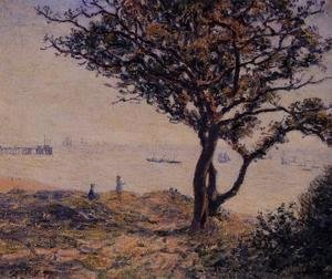 Alfred Sisley - A Cardiff Shipping Lane