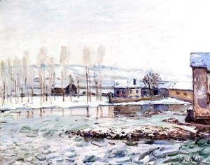 Alfred Sisley - The Mills at Moret