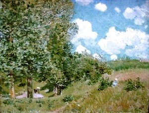Alfred Sisley - Road from Versailles to Saint-Germain