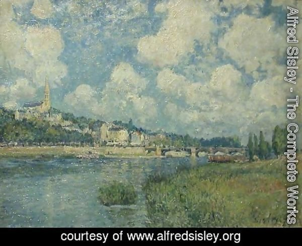 Alfred Sisley - Saint Cloud