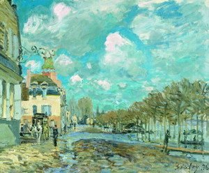 Alfred Sisley - Flood at Port-Marly V